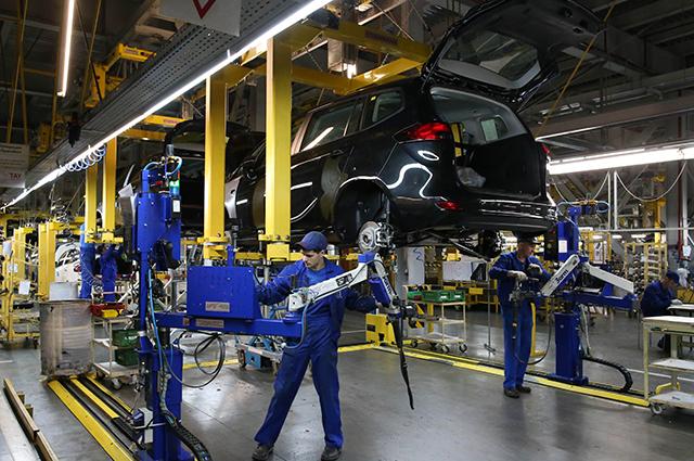 Завод комплекса автосборочного предприятия «Автотор» в поселке имени А. Космодемьянского Калининградской области.