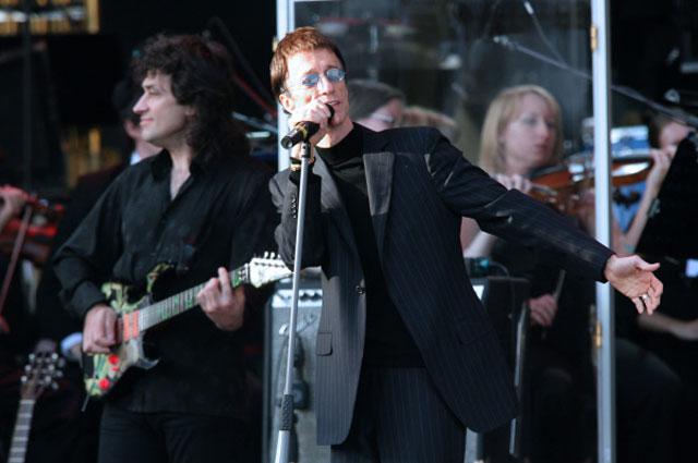 Солист группы Bee Gees Робин Гиб