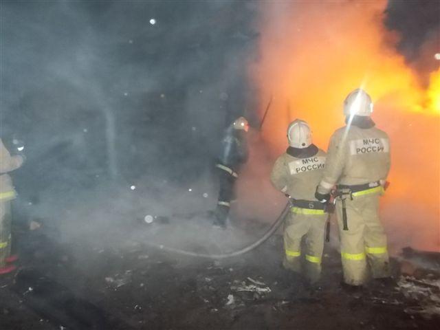 Пожар в Коврове