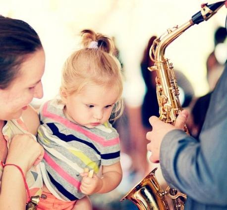Заряд позитивной энергии получают и ребятишки, и мамы с папами.