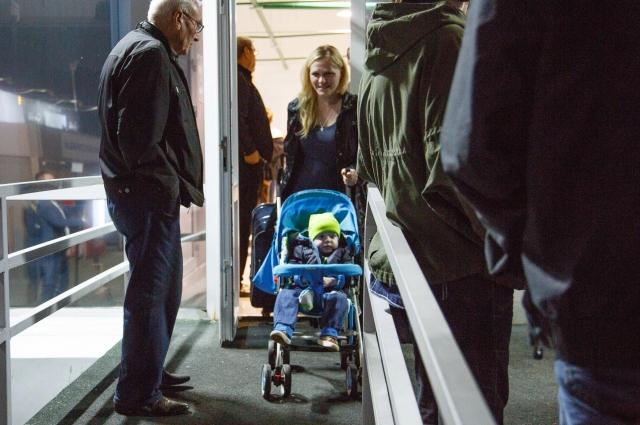 В Выходные самолёт с Кириллом встречали в аэропорту