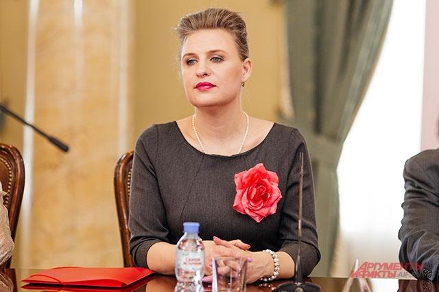 Координатор Международного дня голоса в России Екатерина Осипенко.