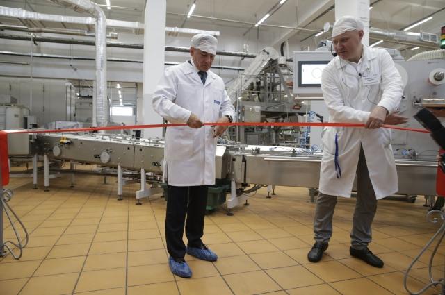 Старт новому производству дал генеральный директор компании Леонид Барышев.