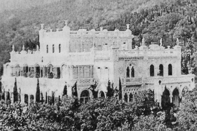 Дворец Кокорева, на месте которого была построена госдача № 8.