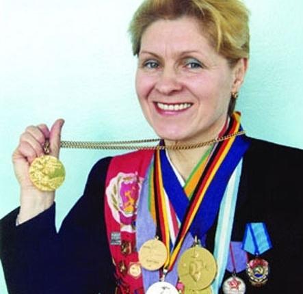 Одна из олимпийских чемпионок - Наиля Гилязова.