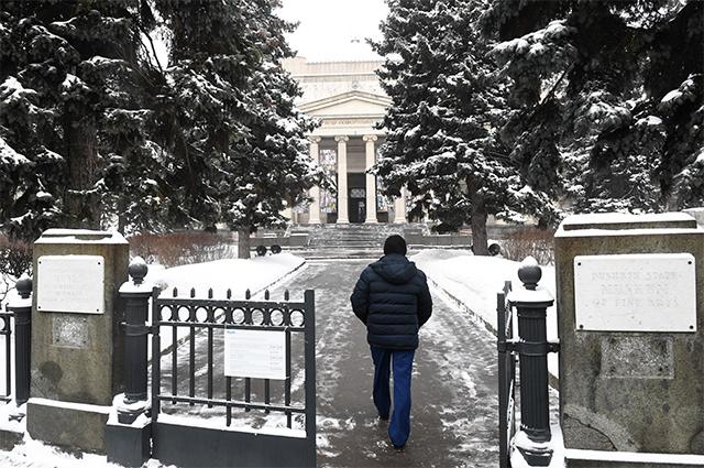 ГМИИ имени Пушкина.