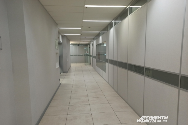Я кое-как выбралась из этого бесконечного коридора.