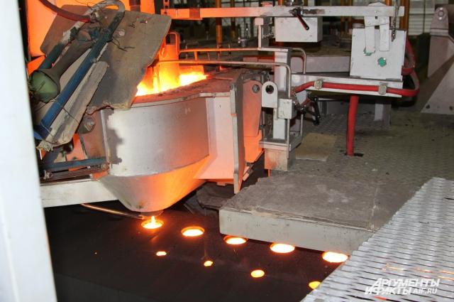На Таганрогском литейном заводе все технологии и оборудование куплены у европейских стран