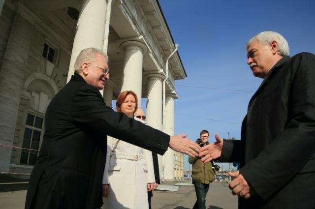Михаил Пиотровский и Георгий Полтавченко.