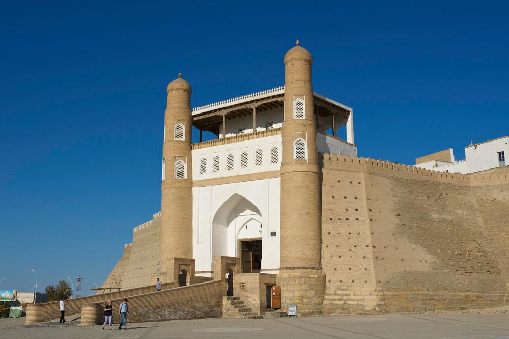 Крепость Арк, Бухара, Узбекистан.