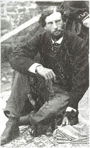 Фрэнк Калверт в 1868 году.