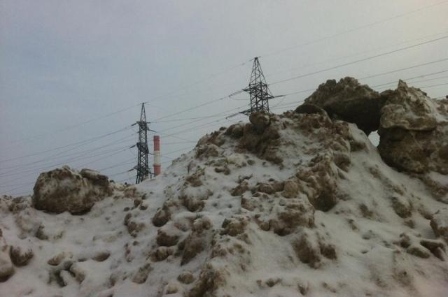 Объем снегоотвалов исчерпан на 80%.