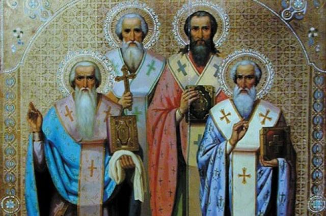 Четыре просветителя Великопермских: Стефан, Герасим, Питирим, Иона.