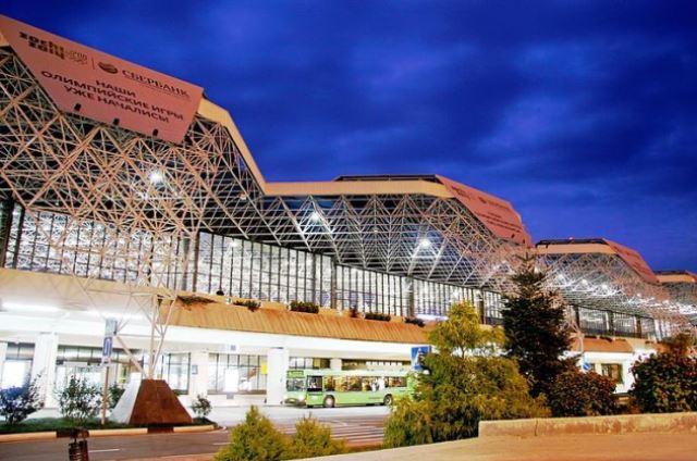 Международный аэропорт в Сочи.