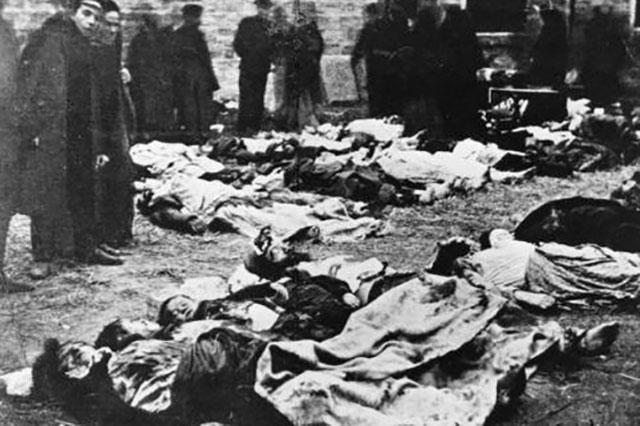 Жертвы погромов в Кишинёве.