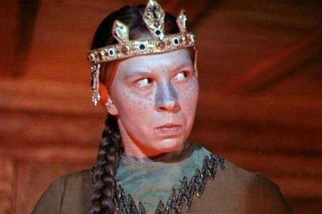 Вера Ивлева в фильме «Сказка о царе Салтане», 1966 год.