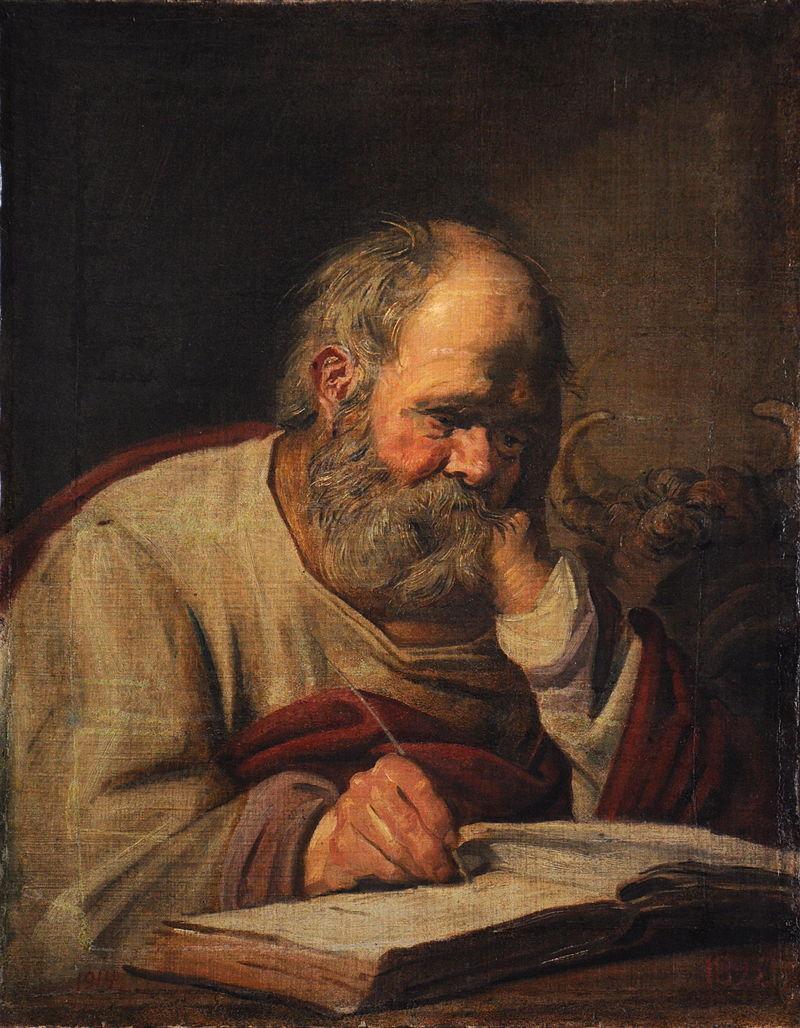 Франс Халс, «Евангелист Лука».