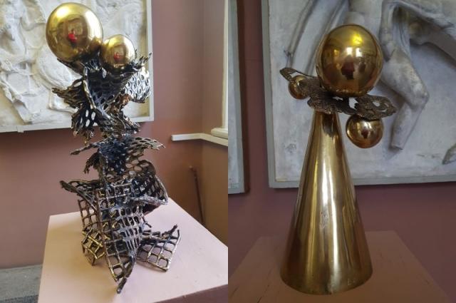 На выставке Васильева представила и такие интересные экспонаты.