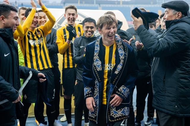 Церемония прощания с игроком «Кайрата» Андреем Аршавиным.