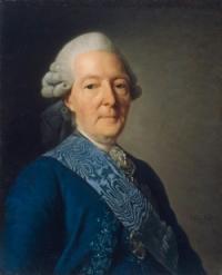 Портрет И. И. Бецкого работы Александра Рослина (1777)