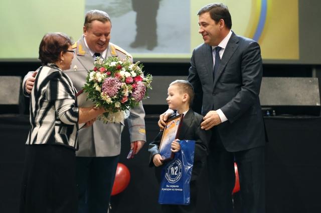 Ваня Макаров из Ивделя - самый юный лауреат фестиваля «Созвездие мужества».