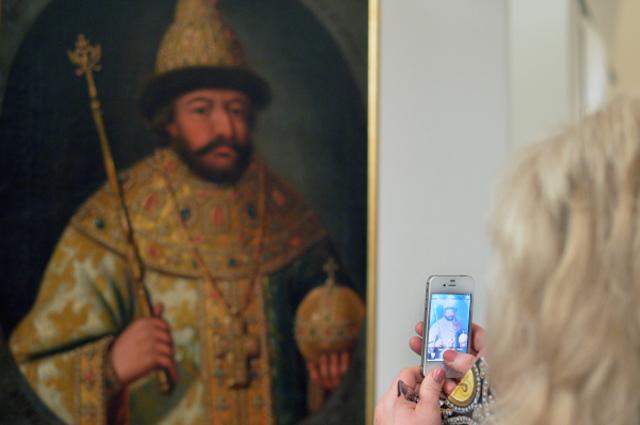 Экспонат на выставке «Борис Годунов».