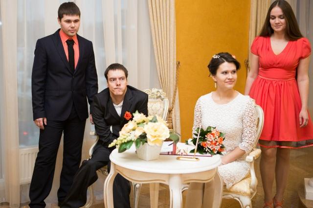 Свадьба Вячеслава и Елены.