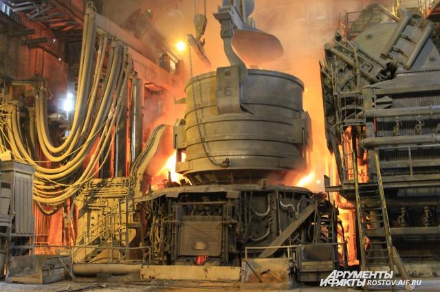 Шахтинский завод РЭМЗ изготавливает арматуру, которая используется в строительной отрасли.