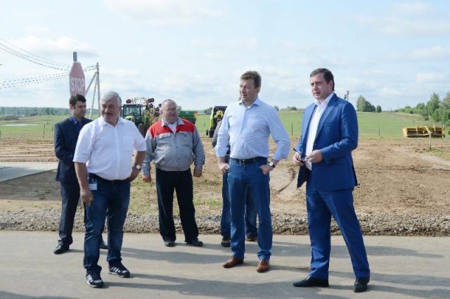 Реализация важнейшего инвестиционного проекта продолжится на территории пяти муниципалитетов.