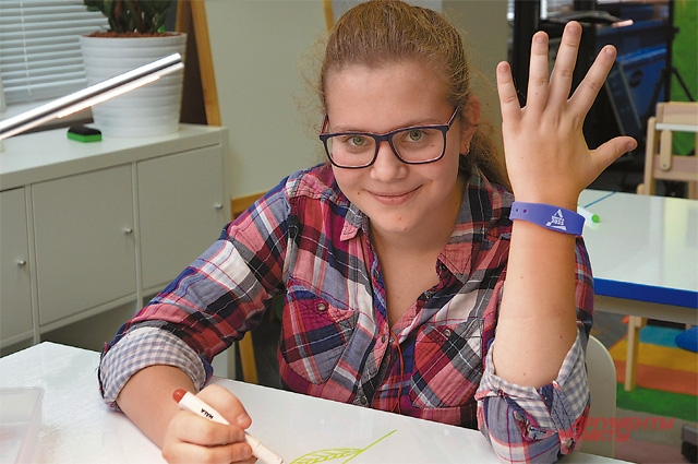 Новый модный гаджет - электронный браслет московского школьника.