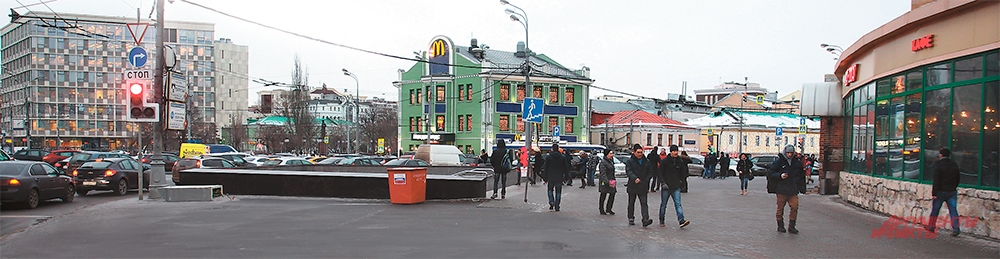 Станция метро «Добрынинская».