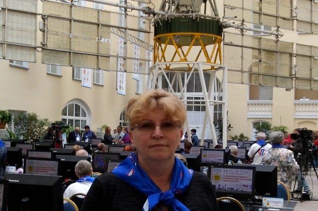 Победительница в Санкт-Петербурге