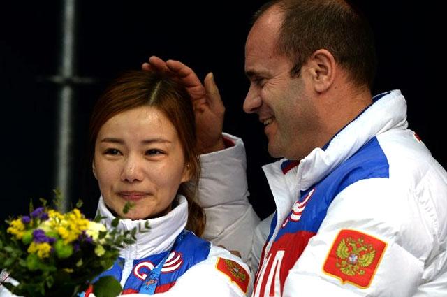 Алексей Кравцов и невеста Виктора Ана Нари