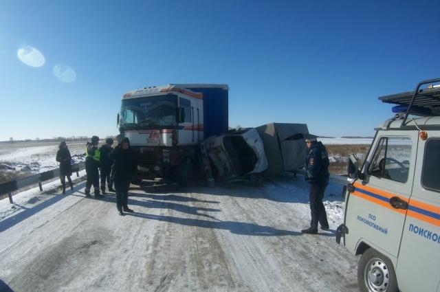 В ДТП пострадал один водитель.