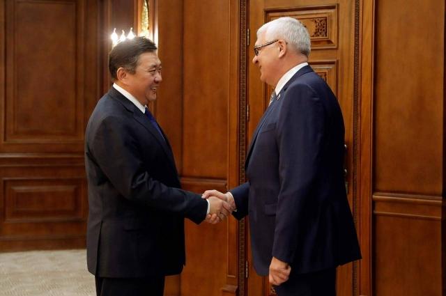 Сергей Брилка считает, что необходимо расширять сотрудничество Иркутской области и Монголии.