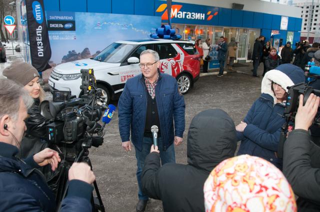Обладателем внедорожника стал Александр Дудин из Ивановской области.