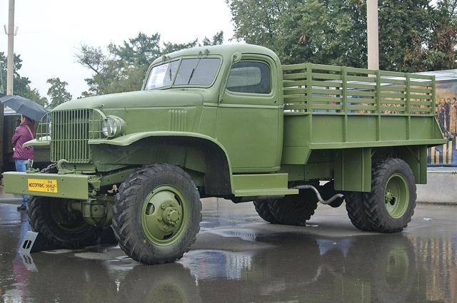Chevrolet G7107 на экспозиции на ВВЦ.
