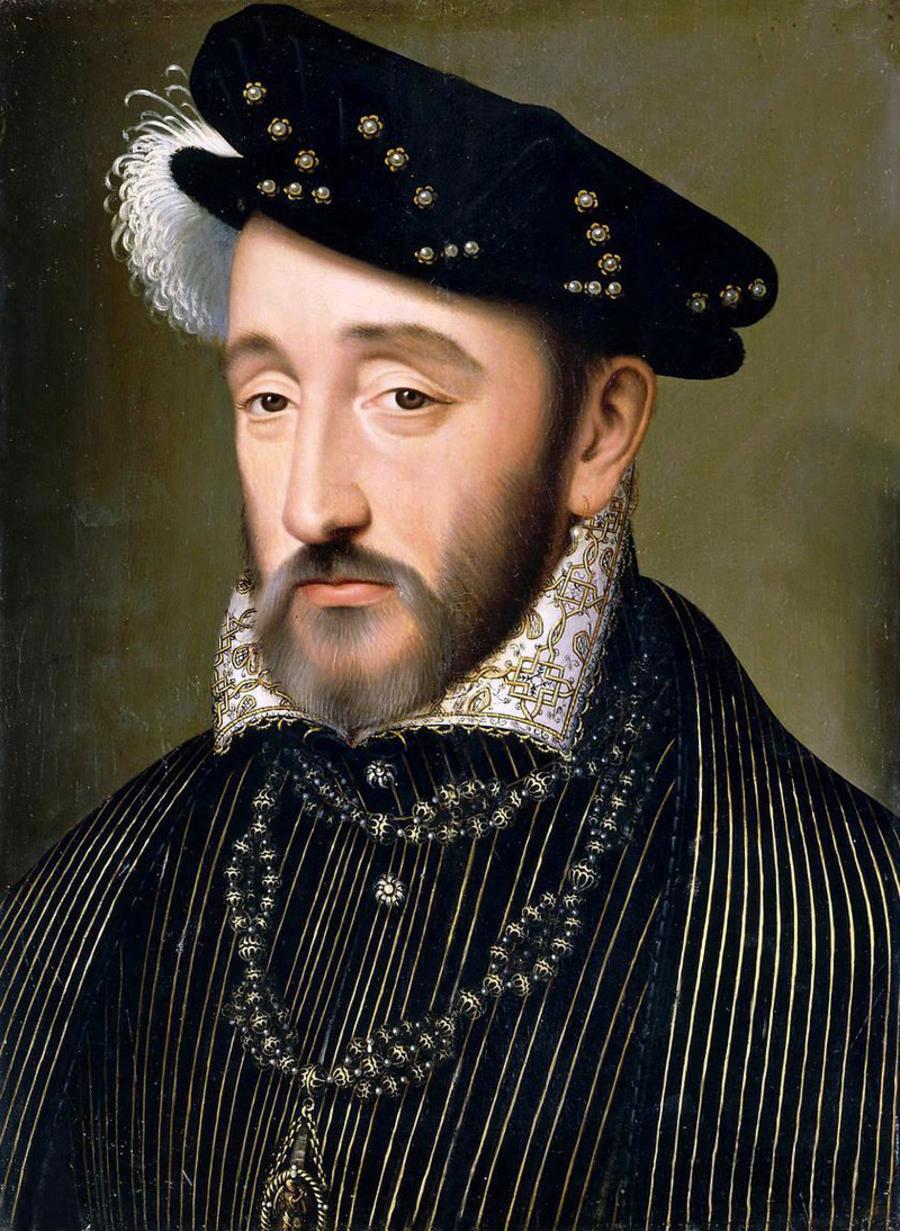 Портрет Генриха II, Франсуа Клоэ.