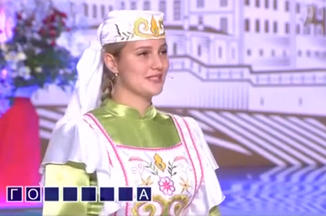 Участники приехали в национальных костюмах.