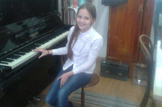 Участница конкурса Соня.