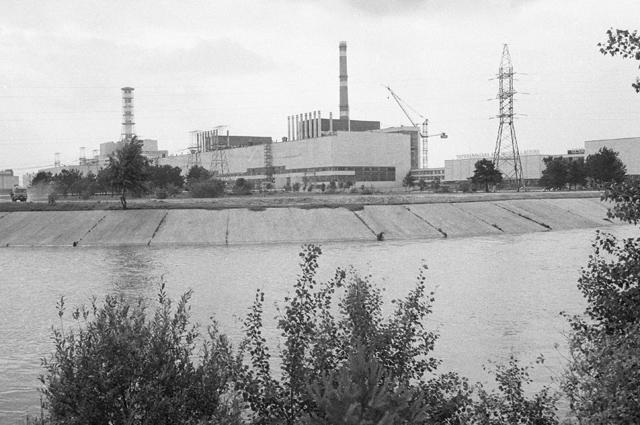 Первая на Украине атомная электростанция в Чернобыле.