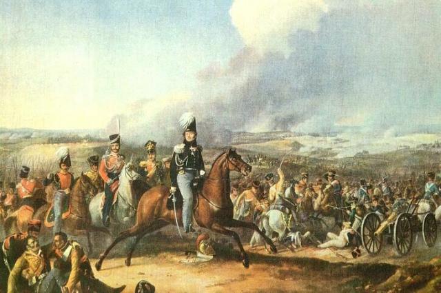 Атака 1-го резервного кавалерийского корпуса генерала Ф. П. Уварова при Бородино