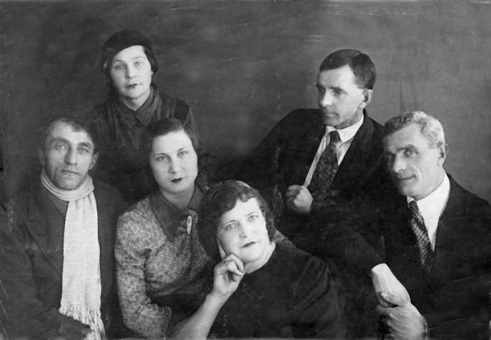 Омские кукольники, фото 30-х годов