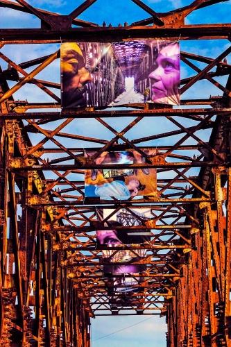 Мост в Геническе — неотъемлемая часть урбанистического пейзажа