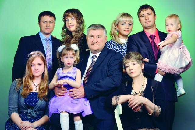 Лауреаты премии губернатора «Семья года» - 2016.