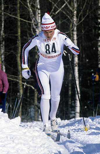 Королева лыжни Раиса Сметанина, 1979 год