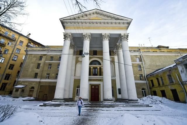 Киностудия, которая не раз принимала в своих стенах Высоцкого.