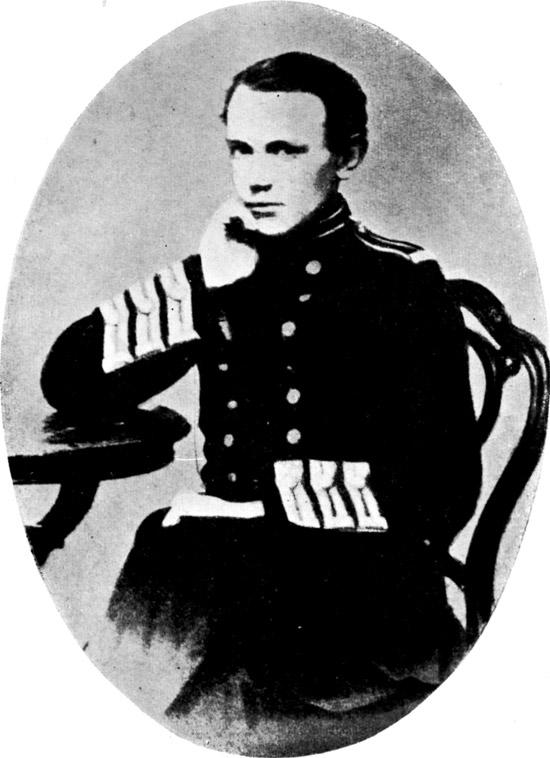Пётр Кропоткин. 1861 г.