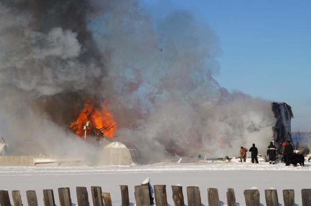 Пожар в Седельников, в котором погибли дети, произошёл из-за взрыва газа.