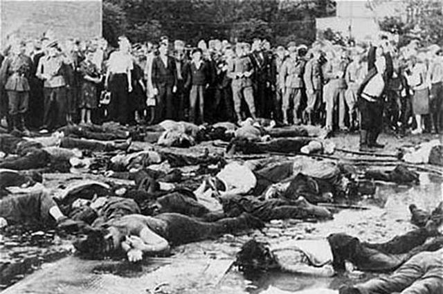 Холокост в Литве - убийства евреев 25-27 июня 1941 года в Каунасе литовскими националистами.